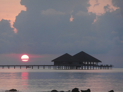 Sunrise off Koh Rong Island