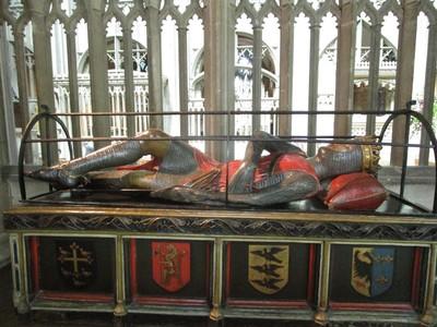 Robert Duke of Normandy tomb