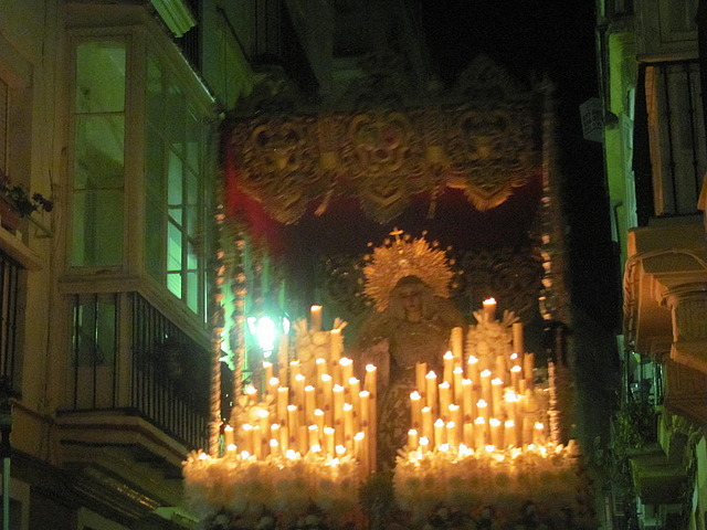 The parade of Mary