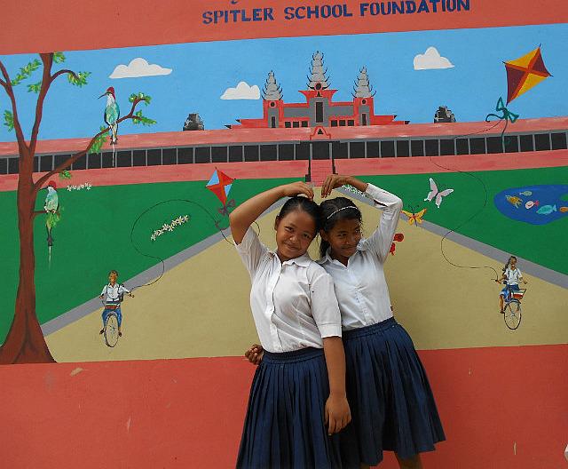 Two Spitler girls