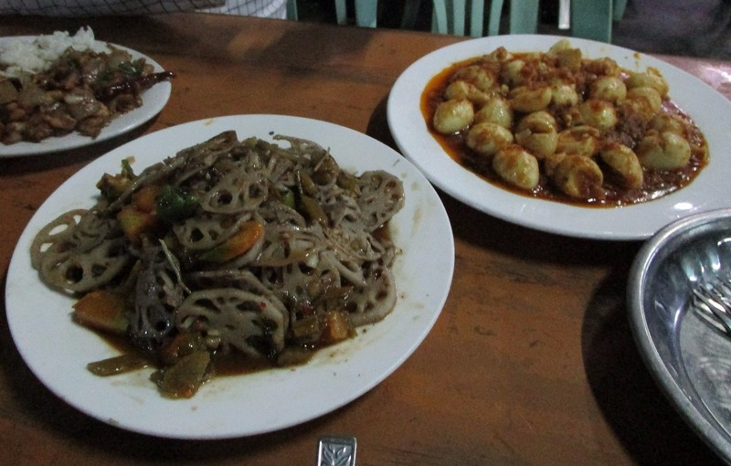 Mandalay dinner