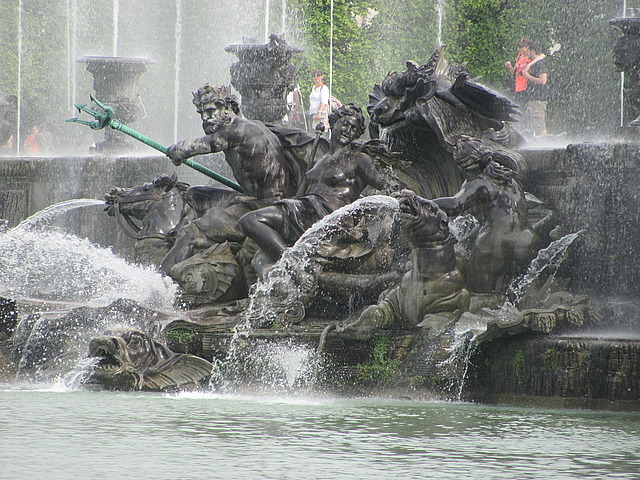 Poseidon fountain at Versaille