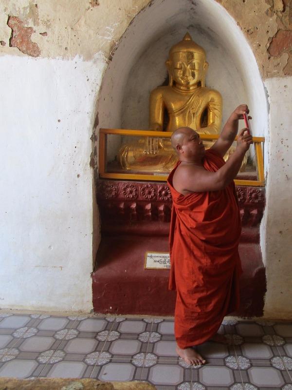 Monk on vacation