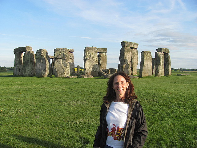 Me and Stonehenge!