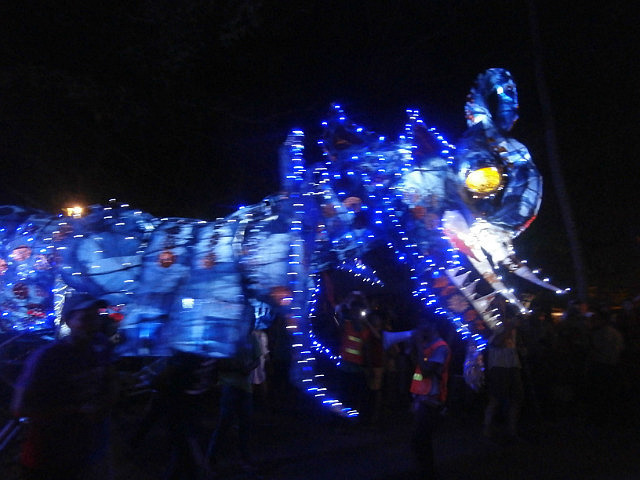 Giant Puppet- cricket?