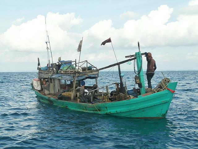 Trading boat