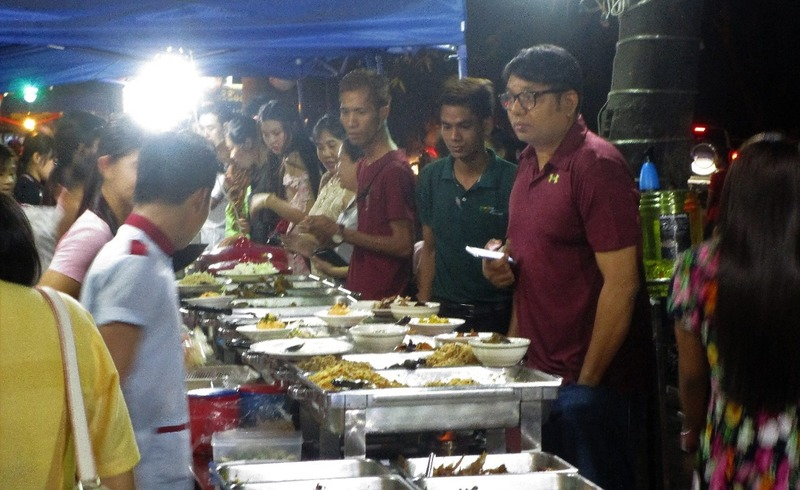 Local restaurant Yangon