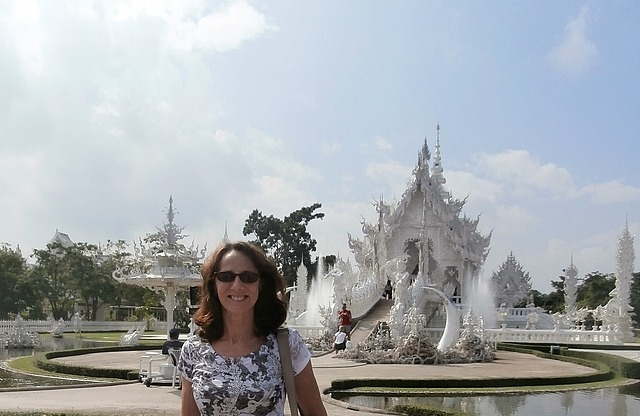 Me at the White Temple