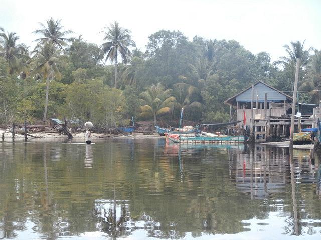 Floating Village on Koh Rong