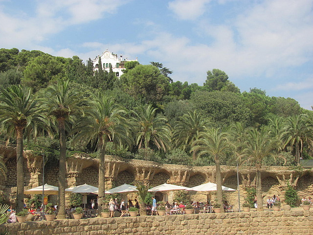 At Park Guell