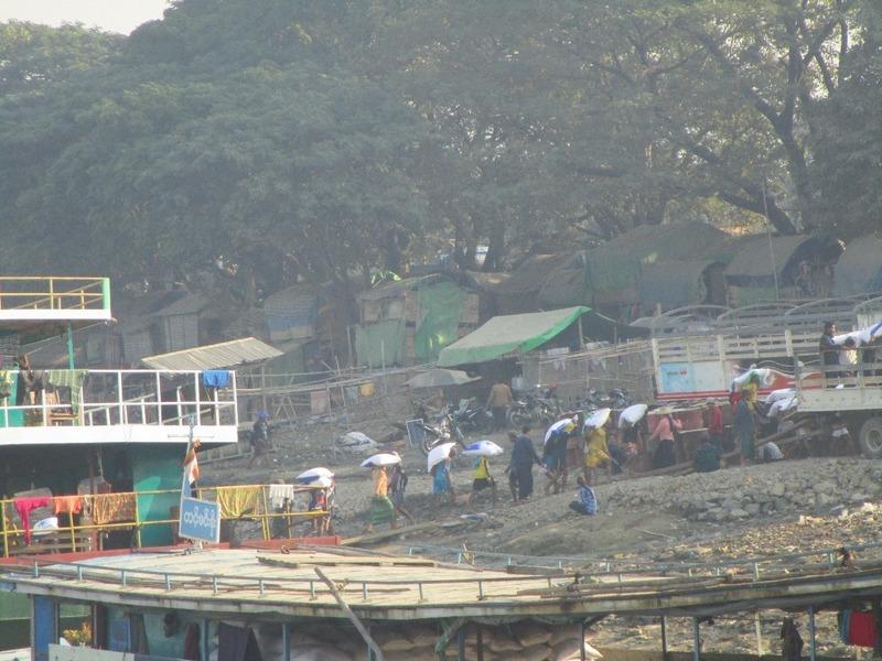 Mandalay jetty