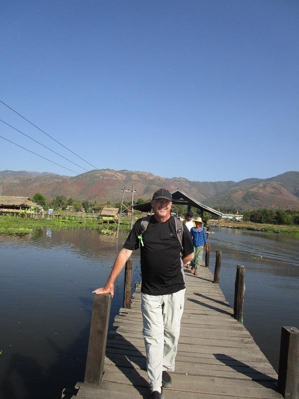 Jim on the boardwalk