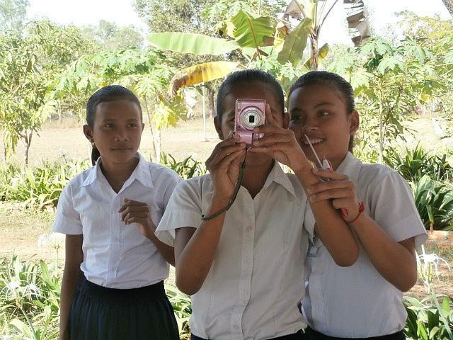 Grade 6 photobook kids having fun with the camera