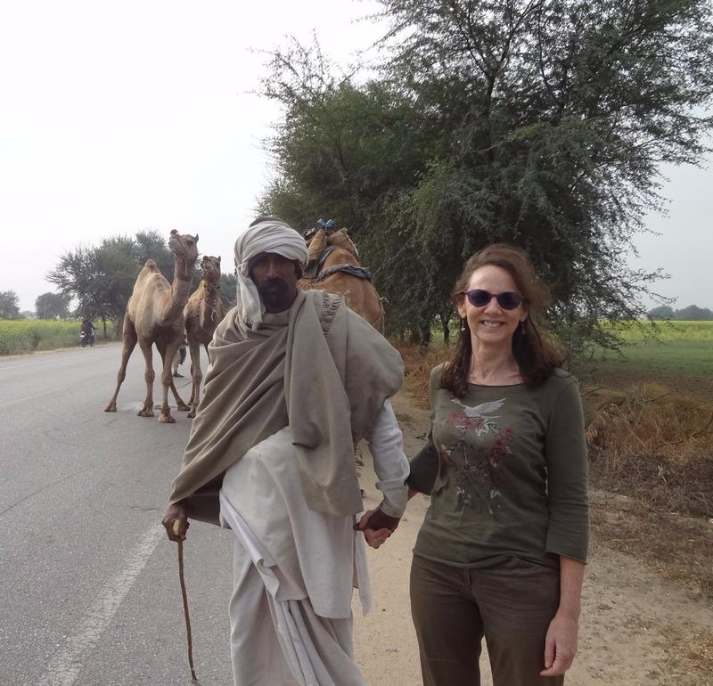 Me and a random camel driver!