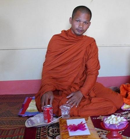 A monk and a Coke