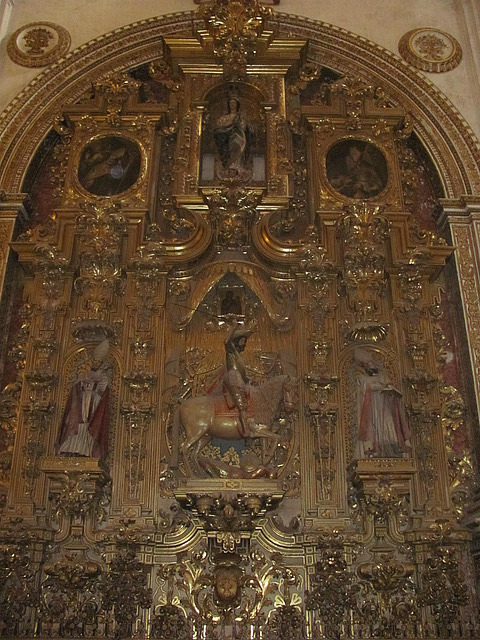 Granada cathedral alterpiece