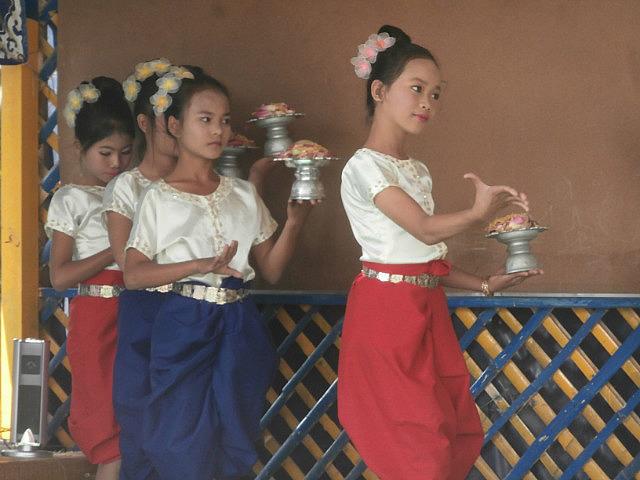 Apsara dance performance at Spitler
