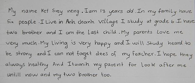 Nang's mom essay