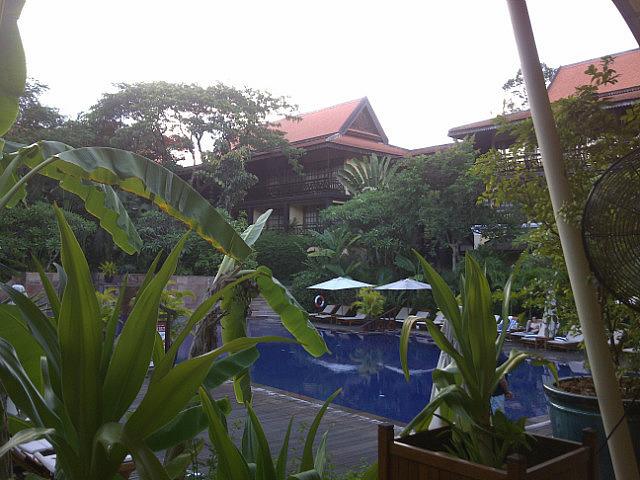 Victoria Angkor pool