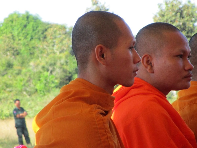 Monks and bodyguards