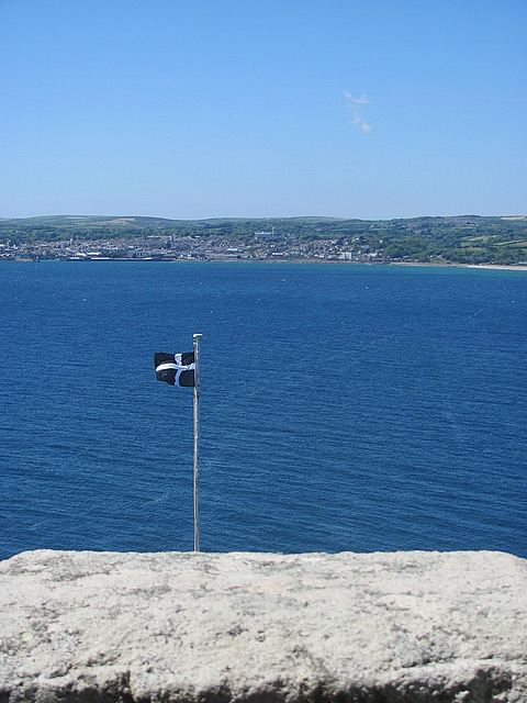 The Cornish flag