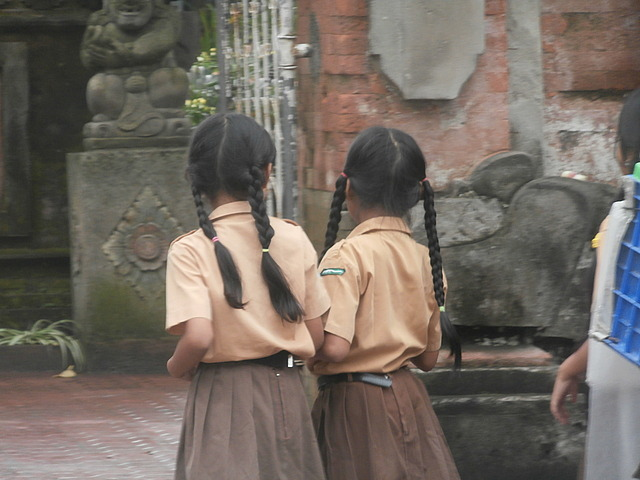 School girls in Ubud