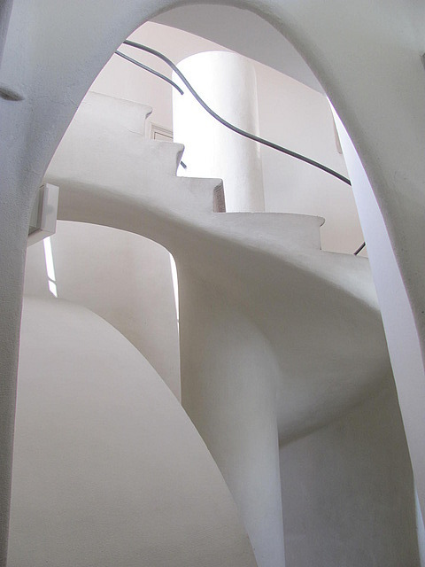 Staircase in the servant's quarters