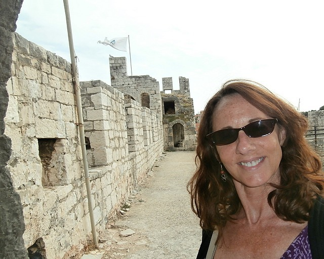 At Kamerlengo fortress in Trogir, built 1400