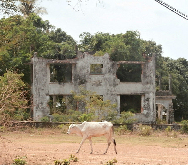 Kep- abandoned French Villa