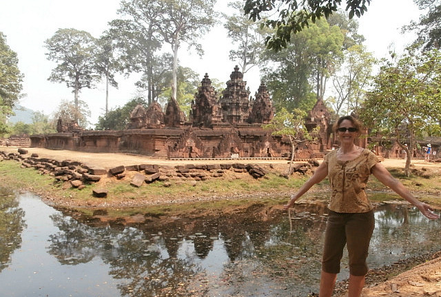 Me at Banteay Srey