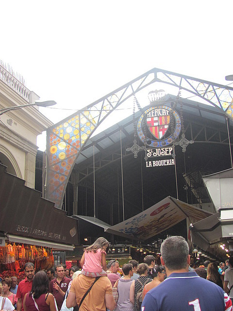 Mercado in Barcelona