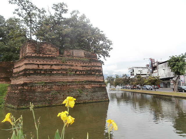 CM moat and city wall