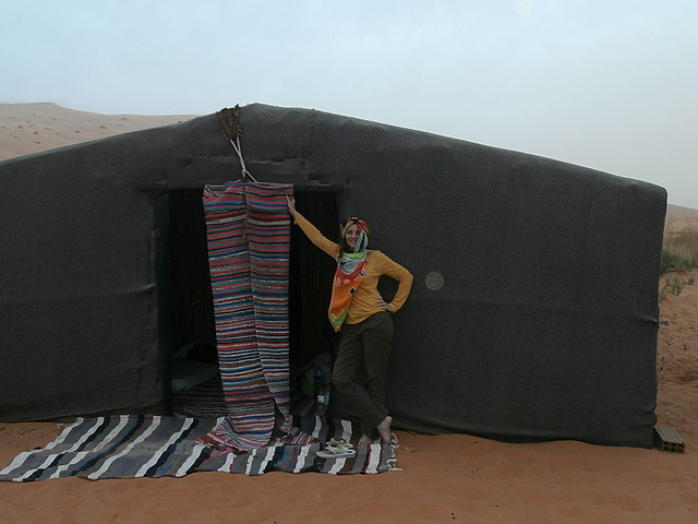 My Berber nomad tent