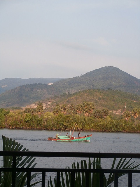 View from my boathouse room