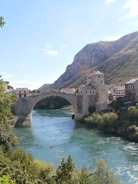 Bridge at Mostar, Bosnia