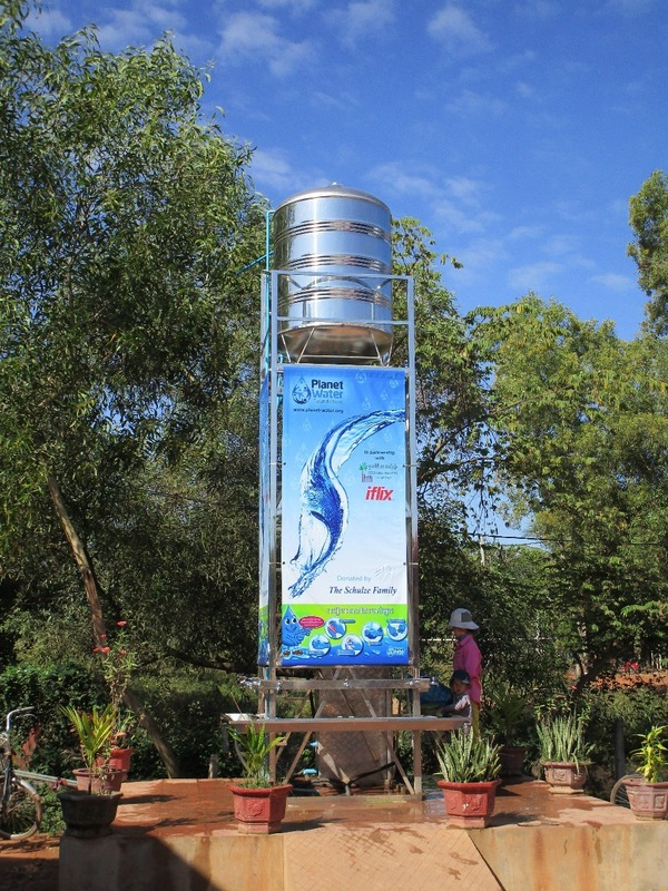 New clean water tower
