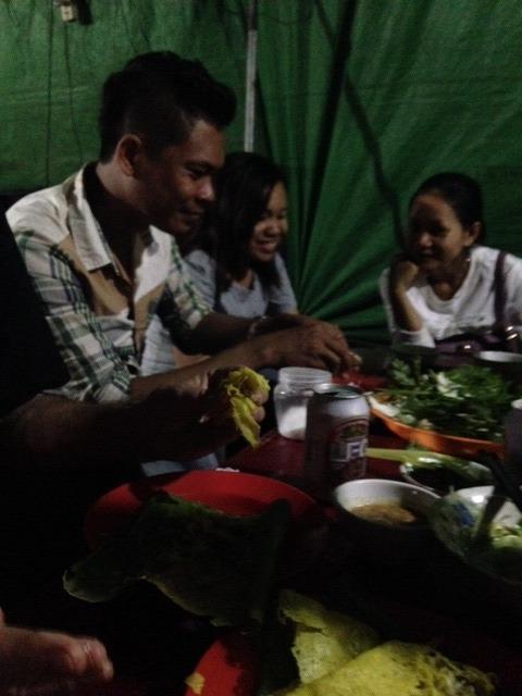 Dinner at 60 Road street market