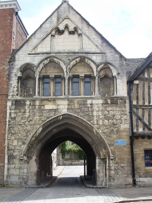 Archway Gloucester Cathedral