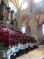 Gloucester Cathedral Choral performanc