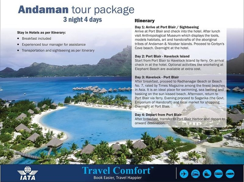 Travel Guide to Enjoy a Great exotic Vacation in Andaman & Nicobar Islands