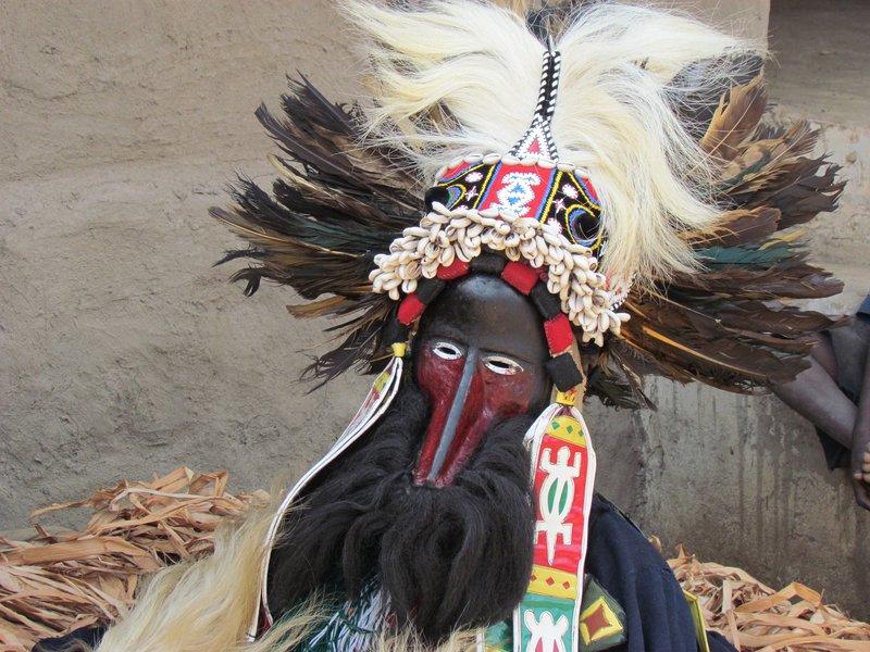 Masked dancer, Odienne