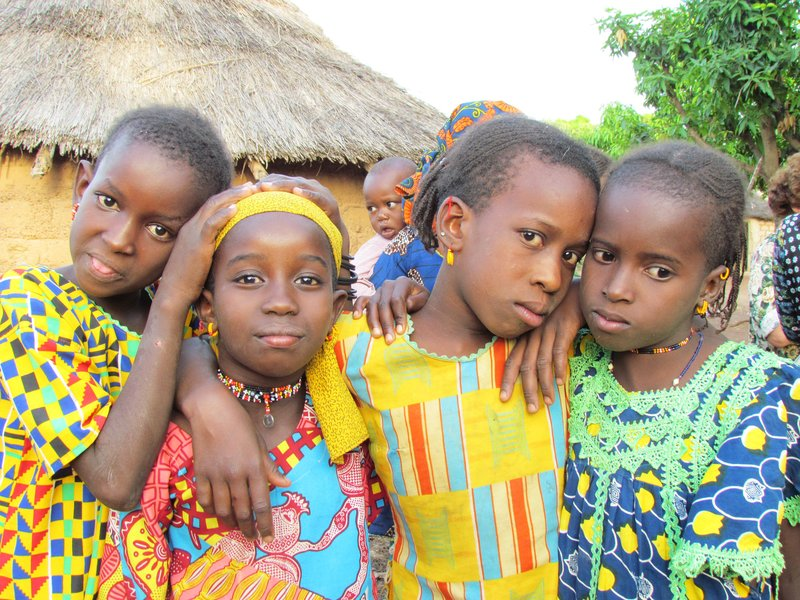 Fulani village, Boundiali