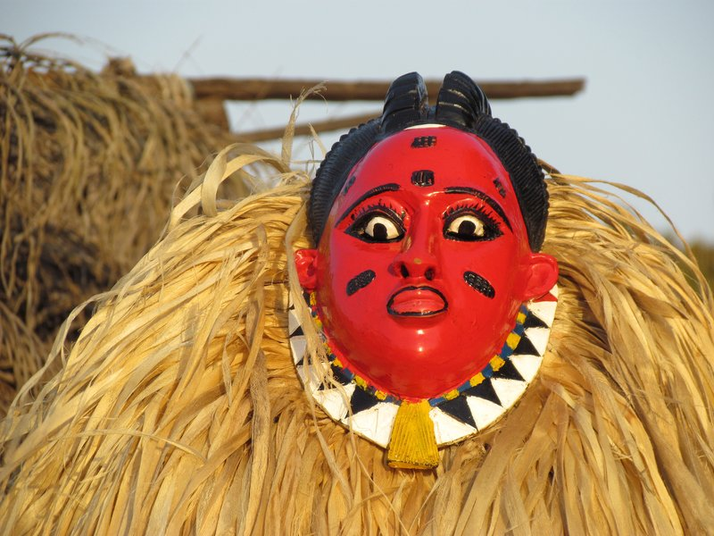 Masked dancer, Boundiali
