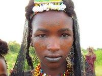 Woodabe Girl at Gerowol Festival