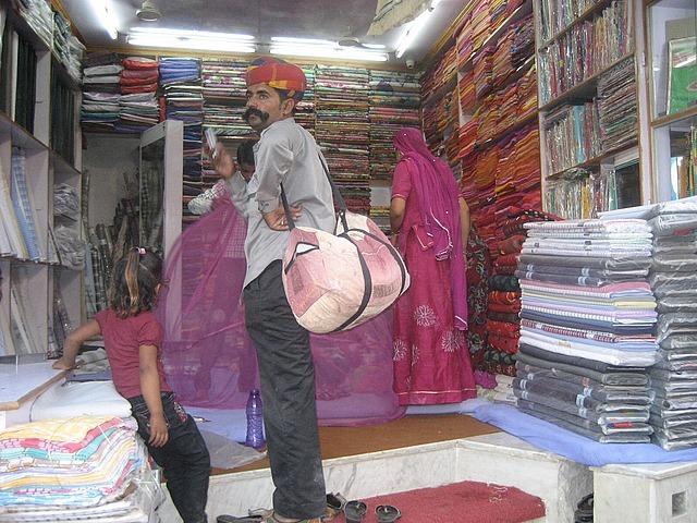 Fabric stall