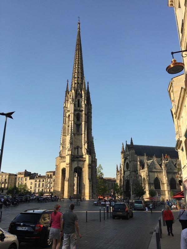 Saint Michel spire Bordeaux