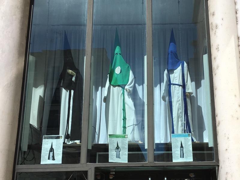 Ku Klux Klan religious costumes