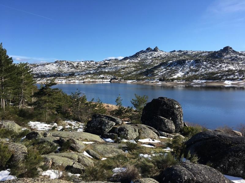 Mountain lake at 1500 metres