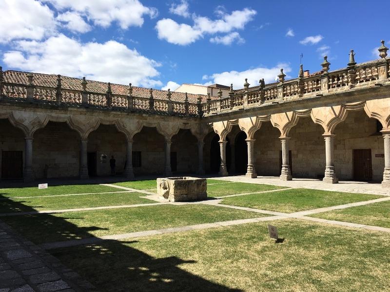 University cloister