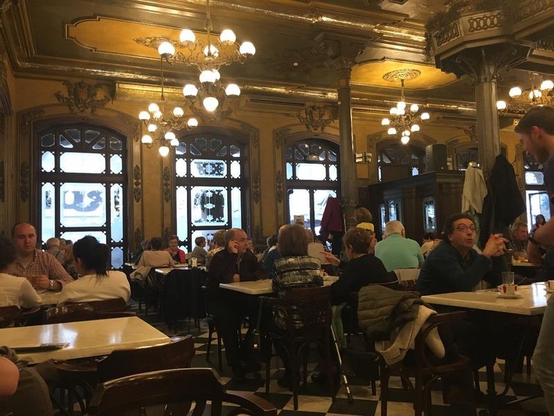 Interior Café Uruña